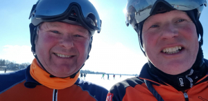 Bert en Johannes op Loosdrecht