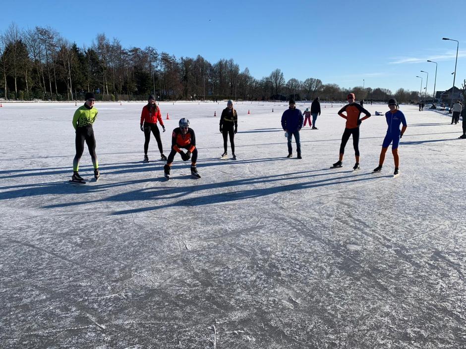GHV op de ijsbaan Eemnes